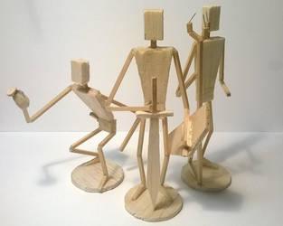 Classic Trio - WIP by DericBindel