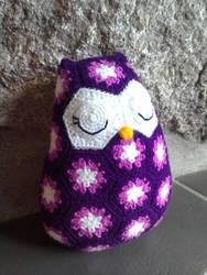 Crochet owl by Kizzydreaming9