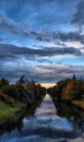 Hoofdvaart canal in  Hooddorp by pagan-live-style