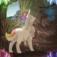{Tokota} Cave Adventures by StrixiART