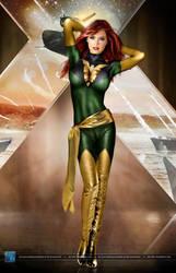 X-Men Legends: Jean Grey - Phoenix by SilentArmageddon