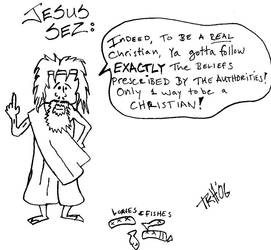 Jesus' wisdom by ktmhz