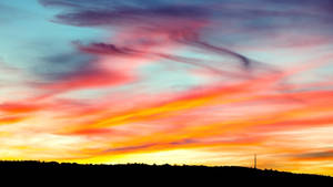 Sundown on april by napsis