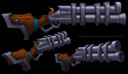 Rifle by CorderoStorm