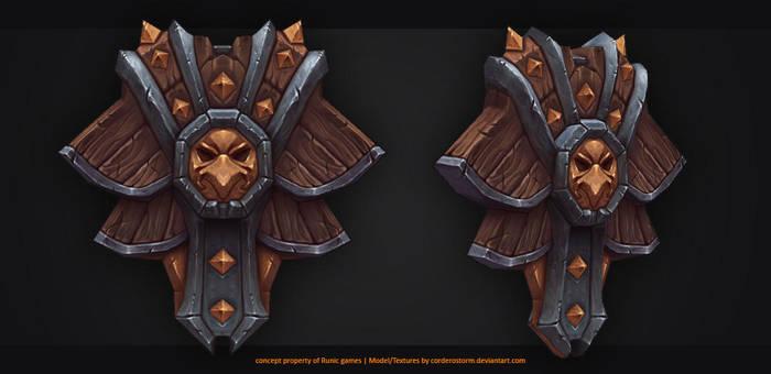 Fantasy shield by CorderoStorm