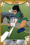 Rock Lee (5th Gate of Closing) by meshugene89