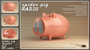 Spider Pig Radio by loshke