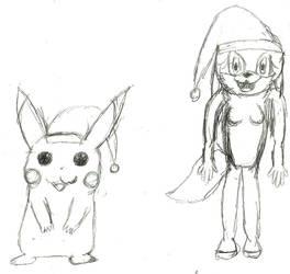 Drawing for shadythedark by Dragonfire1024