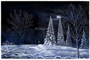 Snowscape by aviagua