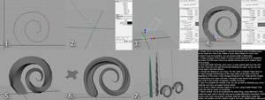 Request: Horn Tutorial in Maya by Tiwyll