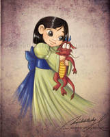 Child Mulan by MoonchildinTheSky