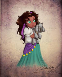 Com: Child Esmeralda by MoonchildinTheSky