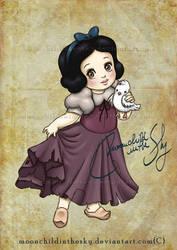 Child Snow White by MoonchildinTheSky