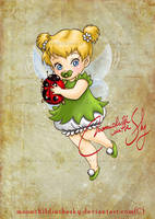 Child Tinker Bell by MoonchildinTheSky