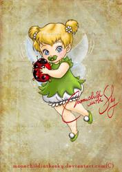 Child Tinker Bell by MoonchildinTheSky