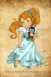 Child Thumbelina by MoonchildinTheSky