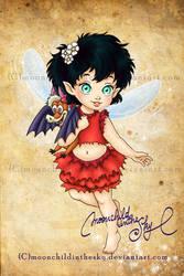 Child Crysta by MoonchildinTheSky