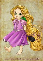 Child Rapunzel by MoonchildinTheSky