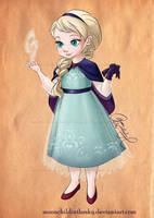 Child Elsa by moonchildinthesky by MoonchildinTheSky