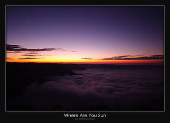 Where Are You Sun by AB-Photography