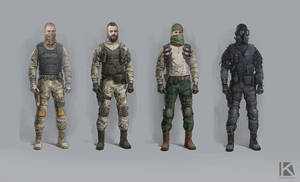 Urban Chaos Soldiers concept by Kostya-PingWIN