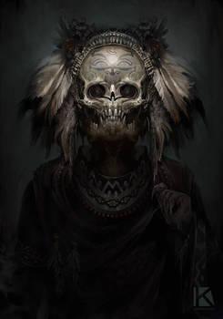 aztec demon speedpaint 2 by Kostya-PingWIN