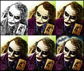 My Card Step by Step and Speed Paint by PsychoSlaughterman