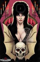 Elvira Mistress of the Dark by PsychoSlaughterman
