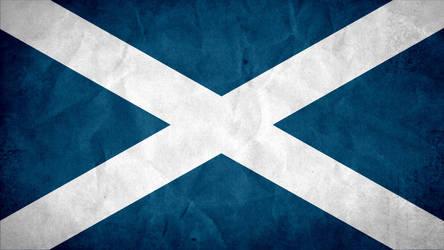 Scotland Grunge Flag by SyNDiKaTa-NP