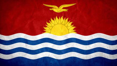 Kiribati Grunge Flag by SyNDiKaTa-NP