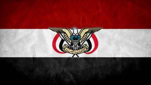 Yemen Grunge Flag w/ Emblem by SyNDiKaTa-NP