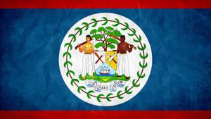 Belize Grunge Flag by SyNDiKaTa-NP