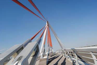 Madrid Bridge by c0tu