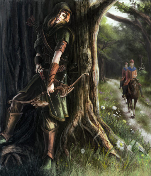 Female Robinhood by JoeyJulian