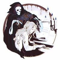 Castlevania Alucard Helloween fanart by SpaceAlga