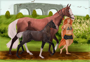 GSS   Halter Class by Ysval