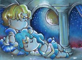 Starry Nap by ClockworkAtom