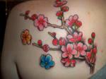 Sakura Tattoo in Color by Miko-Baka
