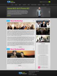 TV Series Network by Rafanfsu