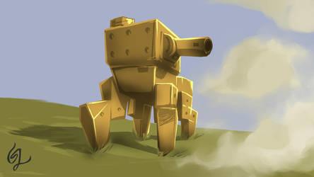Heavy walker 18-10-14 by Michael-von-Terra