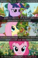 Fallout Equestria Propaganda billboards by MarkJaw