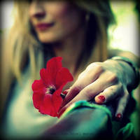 .: Feeling Red:. by neslihans