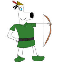 Dudley as Robin Hood by TheNoblePirate