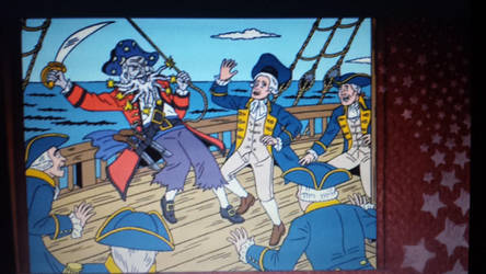 Ugly Americans: Leonard Powers as a Pirate by TheNoblePirate