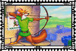 Robin Hood Stamp by TheNoblePirate