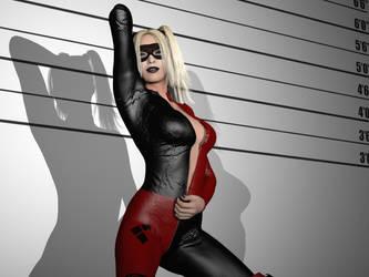 Harley Quinn - Lineup by LascielX