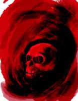 skull by nipples-man