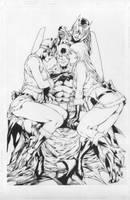 Batman by Ed Benes Inks by JPMayer