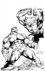Hulk - Pin-Up by Ed Benes by JPMayer