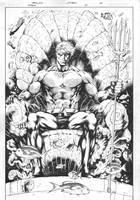 Titans 15 Pg 01 Inks by JPMayer